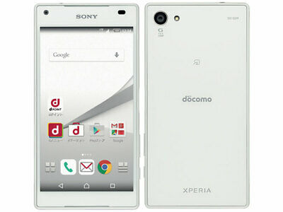Used Docomo Xperia Z5 Compact SO-02H White Sony Unlocked Android Smartphone F/S