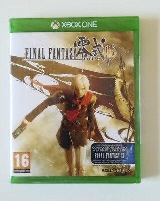Final Fantasy Type-0™ HD * Xbox One * NUEVO !! Precintado !!