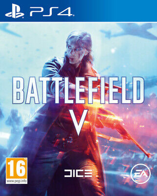 Battlefield V PLAY STATION 4 PS4 NUOVO-ITALIANO-SIGILLATO