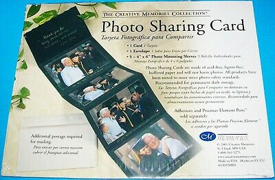 New & Sealed Creative Memories Photo Sharing Card
