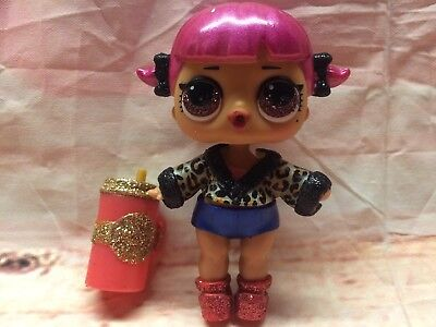 RETIRED LOL CHERRY BABY Surprise Glam Glitter Big Sister No Ball
