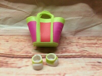 RETIRED LOL Lil Sister BABY Surprise Doll Gift Purse Bag Shoes Sneakers Rip Tide
