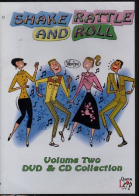 Shake Rattle And Roll Vol.2 DVD & CD Set Coasters / Del Shannon / Bobby Vee *New