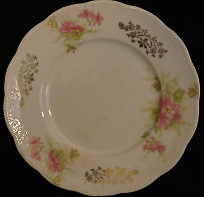 "Antique Homer Laughlin Cream THE ANGELUS 7"" Luncheon Plate Early 1900s"