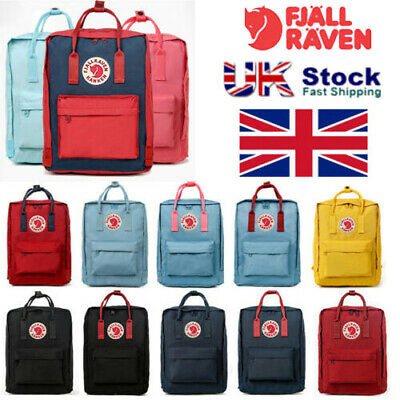 Fjallraven Unisex Rucksack 20L/16L/7L Waterproof Sport Backpack