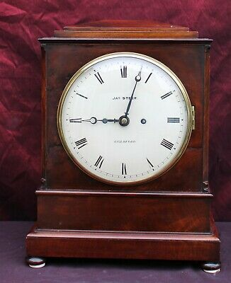 Antique English Bracket Clock Circa 1840