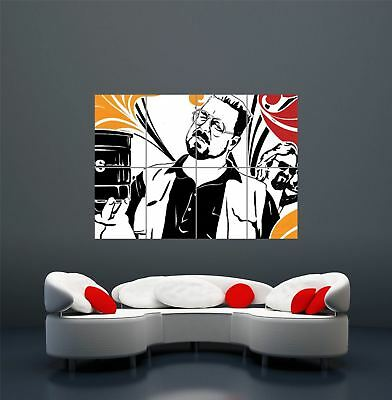 Big Lebowski Cult Movie Classic Giant Wall Art Print Poster Picture Wa102