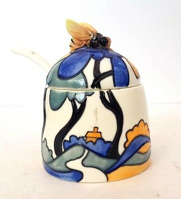 Old Tupton Ware Jeanne McDougall Decorative Condiment Jar The Collection