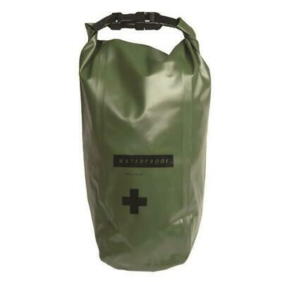 Mil-Tec First Aid Kit Survival PVC Waterproof Bag Dy Sack Pouch Holder 5L Green