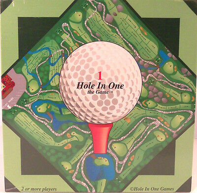 Hole In One Golf Trivia Board Game PGA 1998 Gift Giving Condition Sealed New