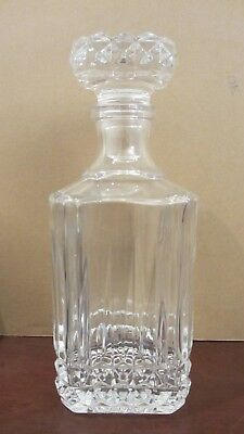 Heavy Lead Crystal Decanter