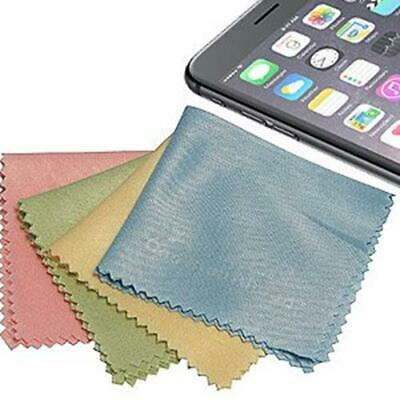 AMZER Soft Microfiber Cleaning Cloth For Phones PDAs iPod - Pack of 4 Colors