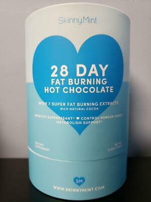 Skinny Mint 28 Day Fat Burning Hot Chocolate! SkinnyMint! New! Exp 6/2021!