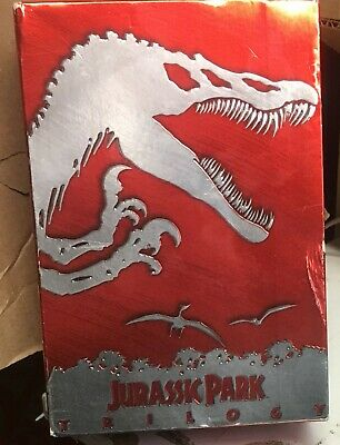 Jurassic Park Trilogy - DVD, 2001, 4-Disc Set - DVD's are in MINT Condition