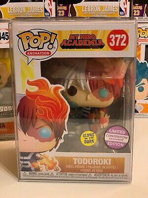 Funko Pop Todoroki Limited Convention Exclusive Glows In The Dark Protector GITD