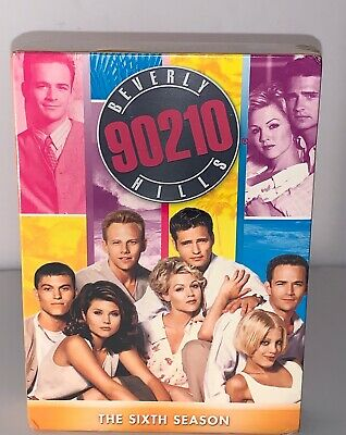 Beverly Hills 90210: Season 6 DVD Set of 7 Disc New Sealed