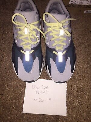 d224392df4282 ADIDAS YEEZY BOOST 700 Wave Runner Size 8.5 USED STOCKX RECEIPT ...