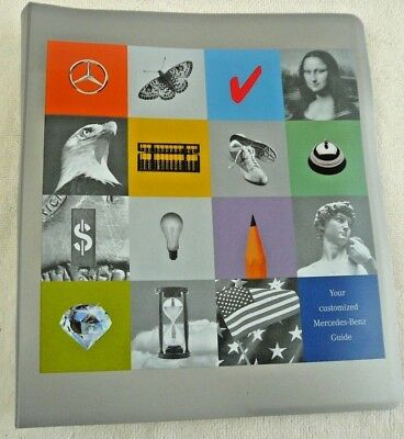 1998 Mercedes-Benz Customized Sales Guide