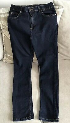 River Island Boys Dark Blue Skinny Jeans Age 12 Years