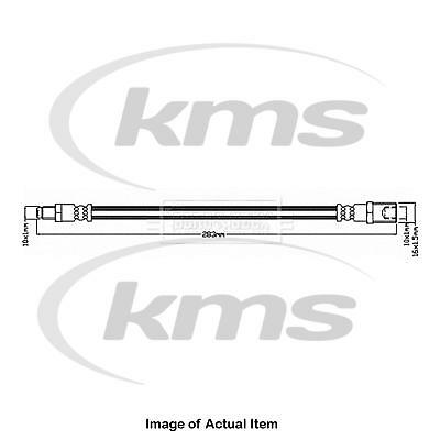 Brake Hose BBH8275 Borg /& Beck Hydraulic XR853862 XR838510 Quality Replacement