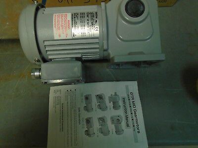 Brother GTR Gearmotor F2S15N015-BMRG1A  115v 60hz 15:1 ratio  NEW in Box