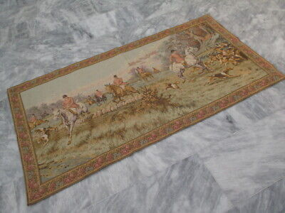 4896 - Old French / Belgium Tapestry Wall Hanging - 160 x 82 cm