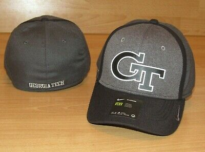 1db8e5e25e5328 Nike Georgia Tech Yellow Jackets Classic 99  Flex Fitted Hat Cap Men s OSFM