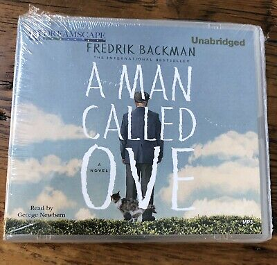 BRAND NEW A Man Called Ove Unabridged Audio MP3 CD Book by Fredrik Backman