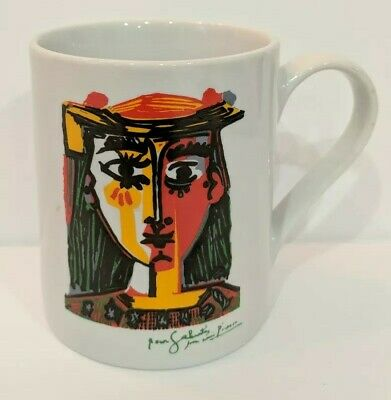 Pablo Picasso Bust of a Woman 2000 Coffee Mug Cup Museum Barcelona Spain