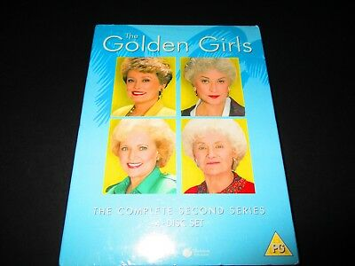 The Golden Girls Series 2 DVD The Complete Second Series Season 2 4-Disc Box Set