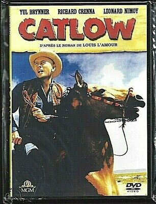 Dvd - Catlow (Yul Brynner / Richard Crenna) Western Introuvable !!!