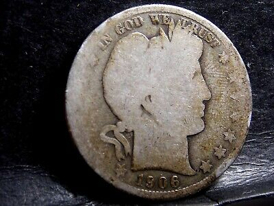 1906 Barber (Liberty Head) Half Dollar - 50 Cents #2