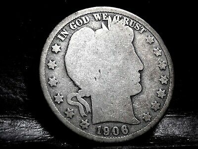1906-O (New Orleans) Barber (Liberty Head) Half Dollar - 50 Cents #1