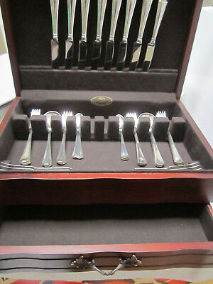 Hunt Club by Durgin Sterling Silver Fish Serving Set 2 Piece Custom Made HHWS