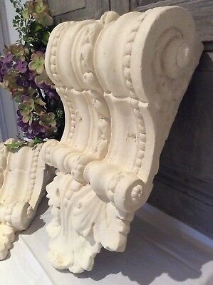 Antique French Spectacular XL Ornate Rococo Corbels~Victorian Architect(1xSingle