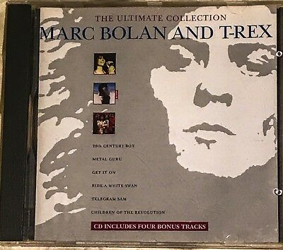 Great Cd Album The Ultimate Collection Matc Bolan & T Rex 4 Bonus Trks Get It On