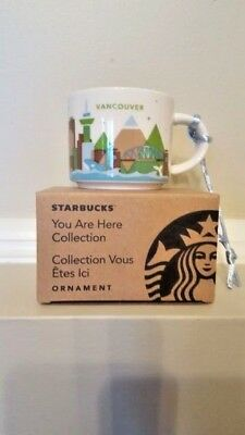 Starbucks City Series Collection : Mini Vancouver Mug NWT (Rare item)