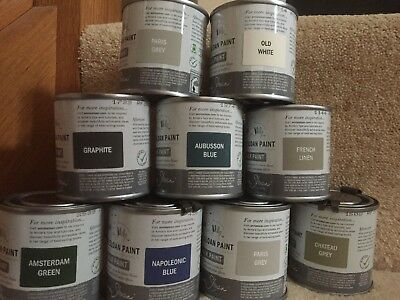 Annie Sloan-Chalk Paint pick your colour-4x120ml tins-perfect for small projects