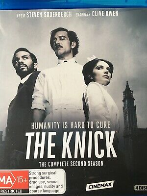 THE KNICK - Season 2 4 x Disc BLURAY Set AS NEW! Complete Second Series Two