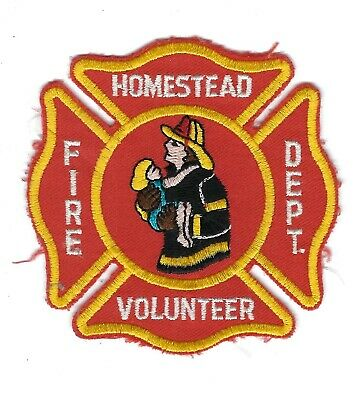 Homestead (Allegheny County) PA Pennsylvania Volunteer Fire Dept. patch - NEW!