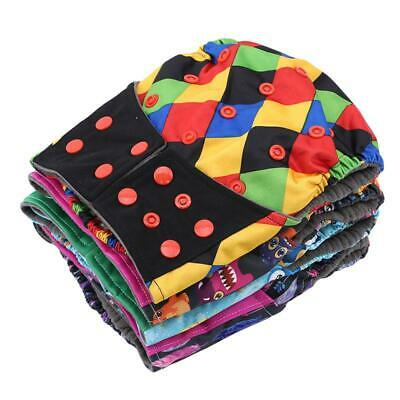 1 PC Reusable Baby Modern Cloth Nappies Diapers Adjustable Washable JA