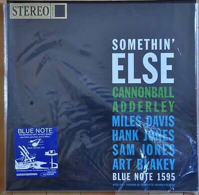CANNONBALL ADDERLEY-Somethin' Else-Music Matters/Blue Note 33 RPM ST LP-MINT-