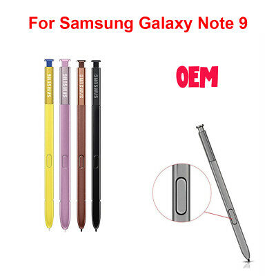 New OEM Stylus S Pen For Samsung Galaxy Note 9 N960 Black Brown Purple Yellow