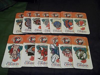 Sealed Molson Canadian 2 Inch NBA Basketball Iron On Sew On Logo Patches Crests