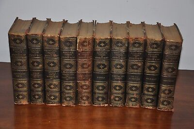 THE WORKS of GEORGE ELIOT 10  Antique DE LUXE Edition  249 of 1000 ever produce