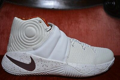 new styles 9e748 16aeb NEW RARE Nike Kyrie 2 Game 6 Four Wins Size 12 914676 164 Unbroken PE White