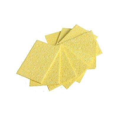 DANIU 10Pcs Welding Soldering Iron Tip Replacement Sponge Esponja Cleaning Pads