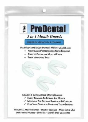 Mouth Guard from ProDental - BPA Free - Teeth Grinding Night Guard Athlet New G1