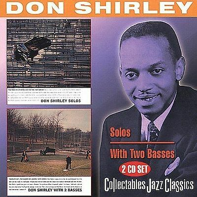 DON SHIRLEY - Solos/Don Shirley With 2 Basses (2CD 2006)NEW  20 TRKS *BUY2 OFFER