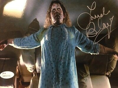 LINDA BLAIR autographed signed The Exorcist 8X10 Photo above bed JSA Witness
